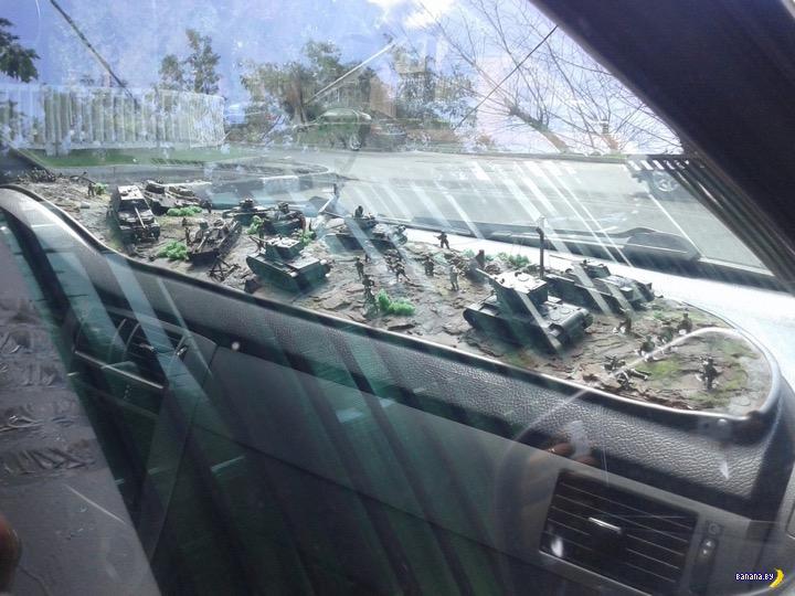 Деды воюют на машине