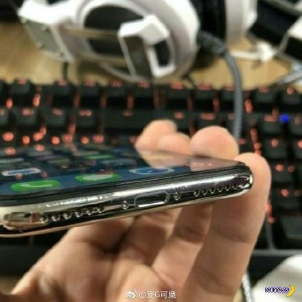 iPhone X еще и облазит!