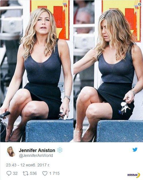 Дженнифер Энистон отожгла в Твиттере