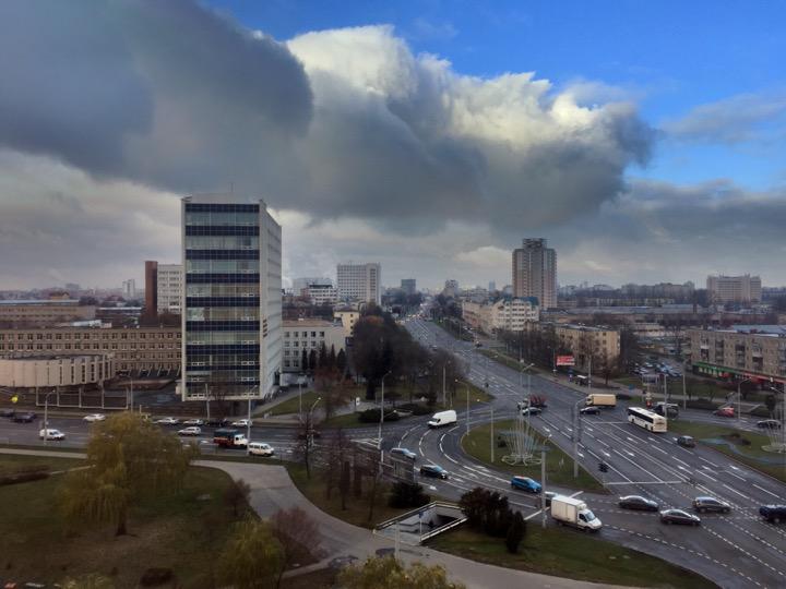 Погода: ветер с моря (Балтийского) дул!