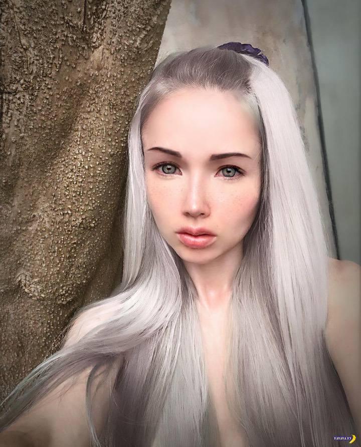 Валерия Лукьянова снова мутировала