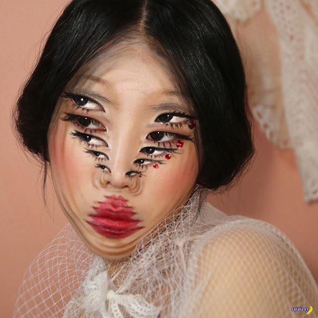 Dain Yoon и её лицо с иллюзиями