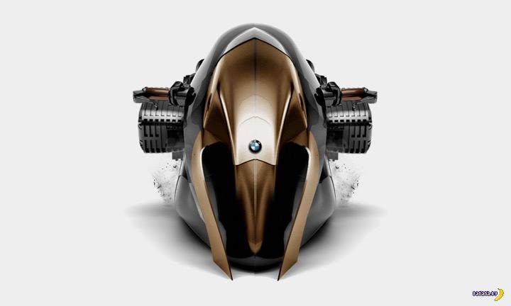 Концепт мотоцикла BMW KHAN