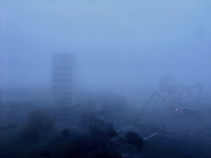 Погода: за окном туманы-маны