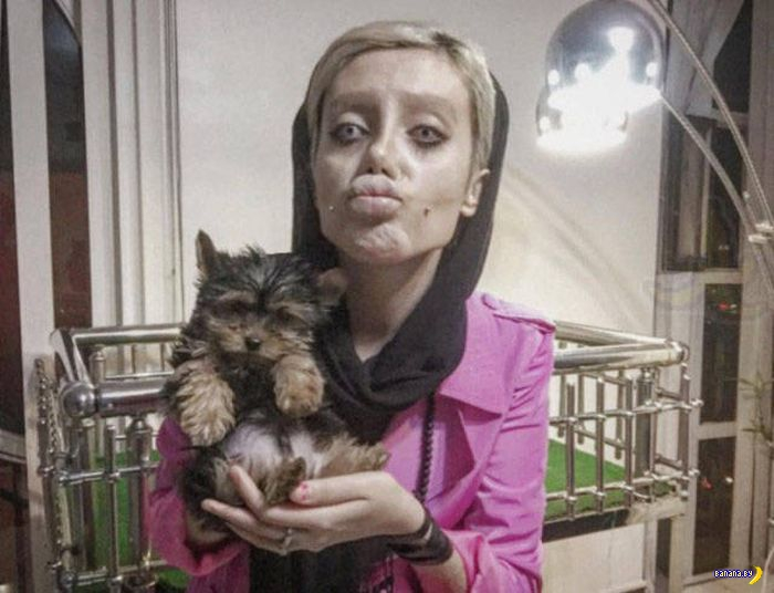 Крипи-двойник Анджелины Джоли