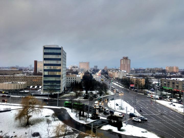 Погода: снег и выше нуля!