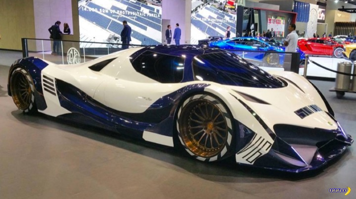 Гиперкар Devel Sixteen