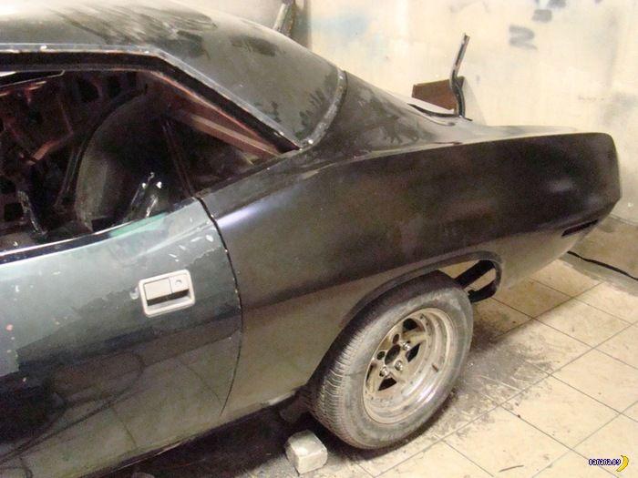 История восстановления Plymouth Barracuda 1970