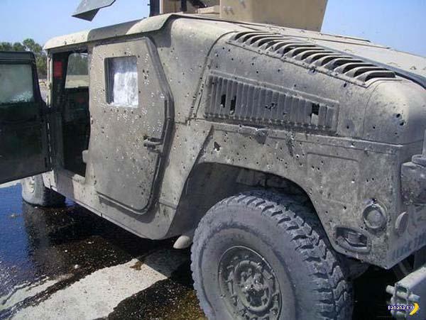 Humvee с задачей справился