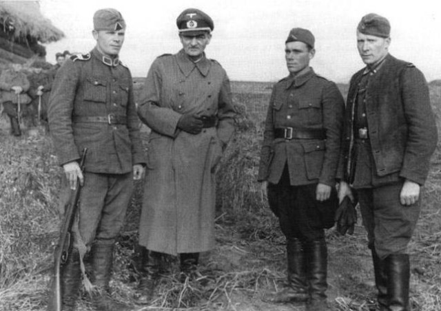 Вторая Мировая: немцы в Кличеве