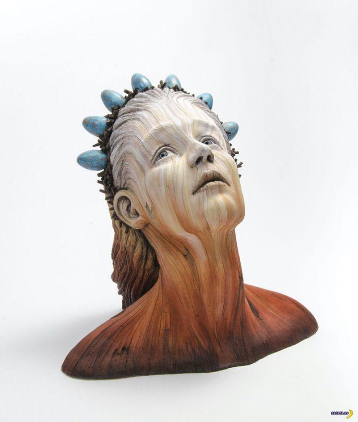 Скульптуры Кристофера Уайта