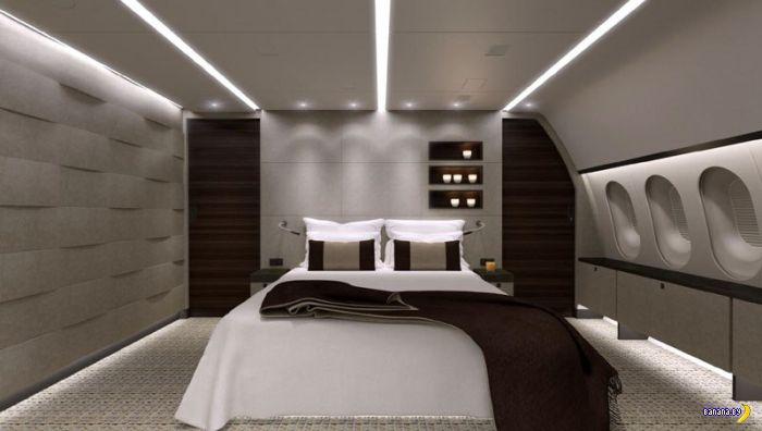Единственный в мире частный Boeing 787 Dreamliner