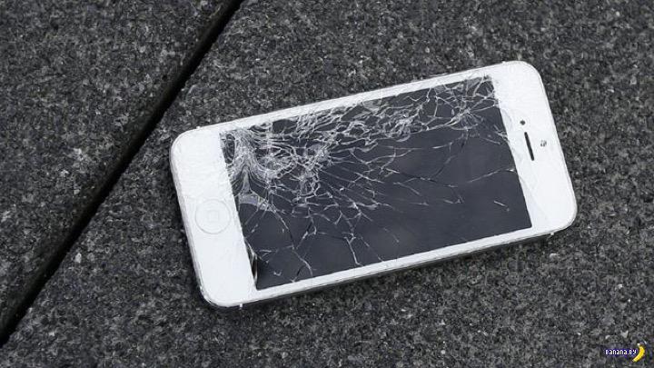 Мошенничество с разбитым смартфоном