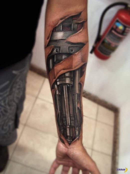 Татуировки на зависть - 95 - эффект 3D