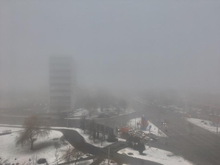Погода: невидимый Минск