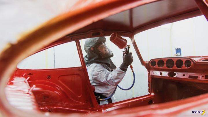 Как из обломков Porsche сделали конфетку