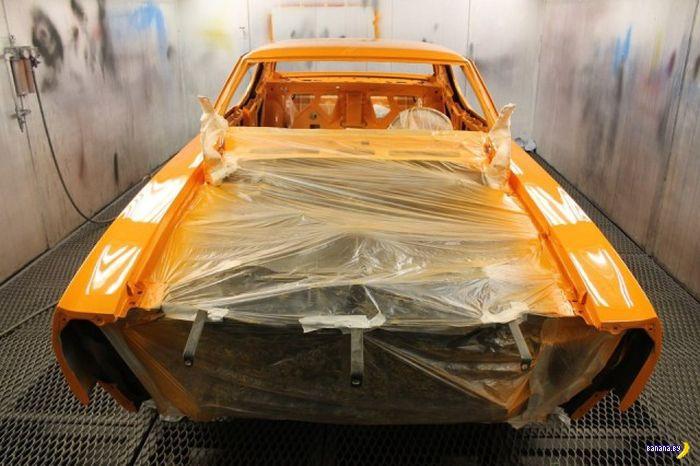 Восстановление Pontiac GTO 1970 The Judge из мусора