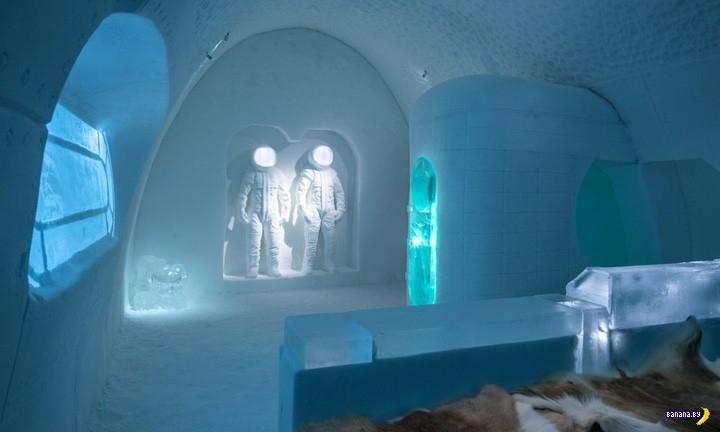 И снова ледяной отель!