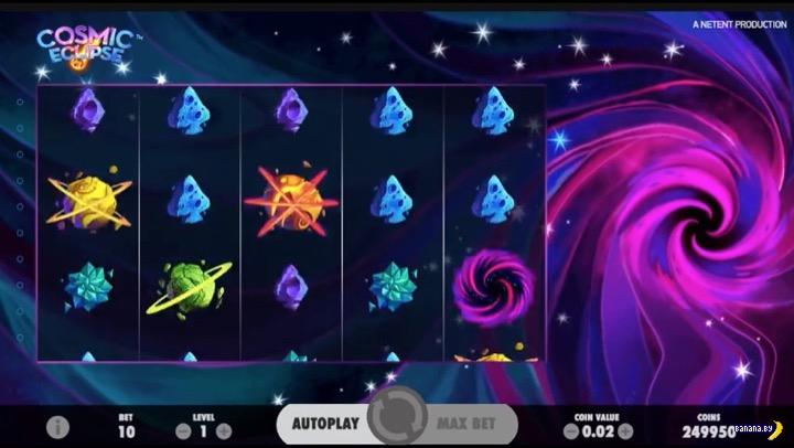 Новый игровой автомат Cosmic Eclipse в Вулкан казино