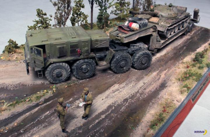 МАЗ-537Г на службе