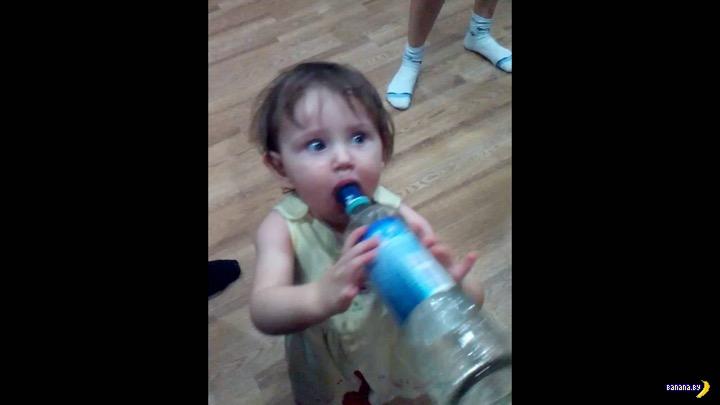 Водка –не снотворное для детей!