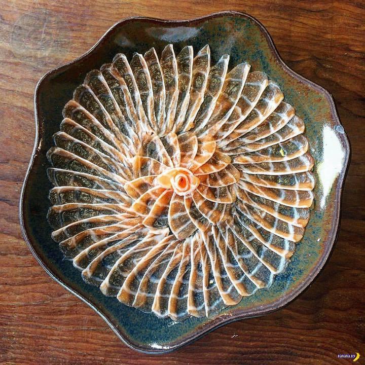 Красота на тарелках
