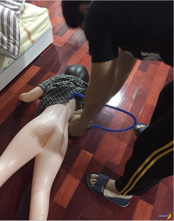 Кукла для секса и надувательство