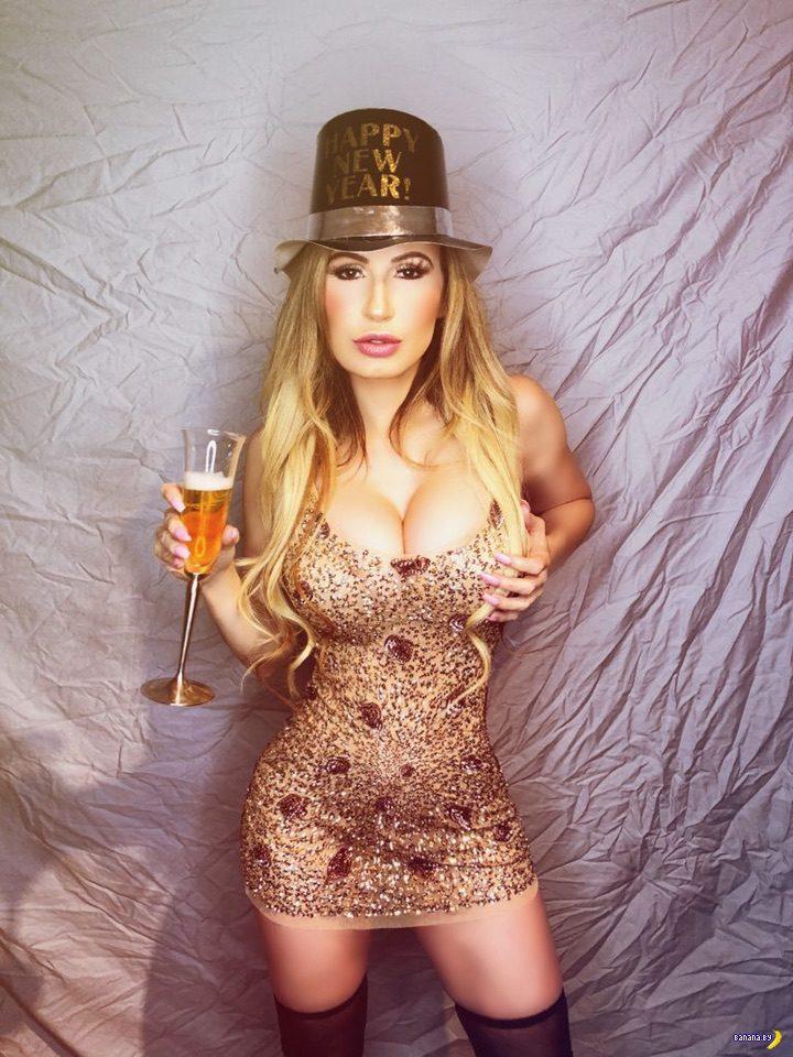 Ана Брага новогодняя