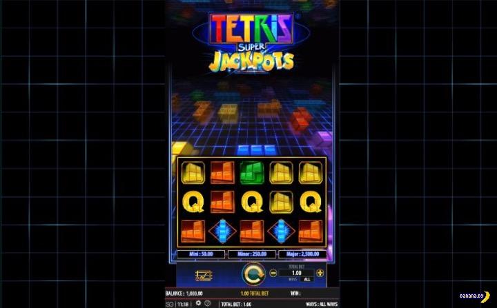 Легендарный Tetris стал игровым автоматом в Джойказино
