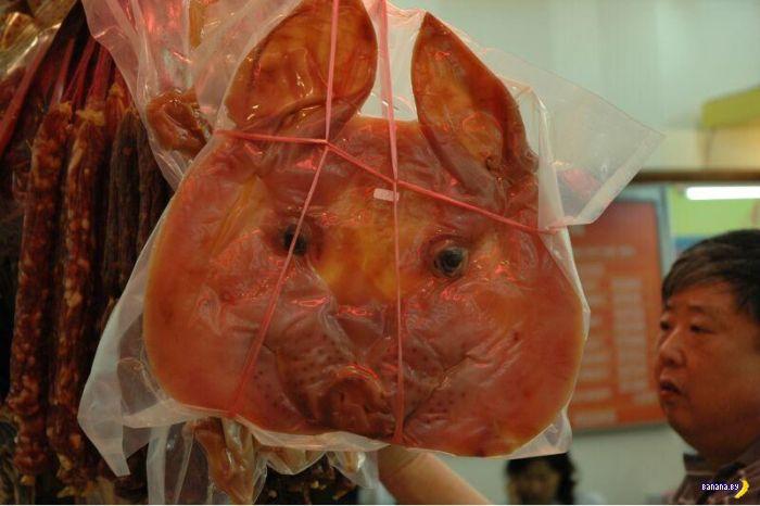 Жуткий китайский мясной деликатес