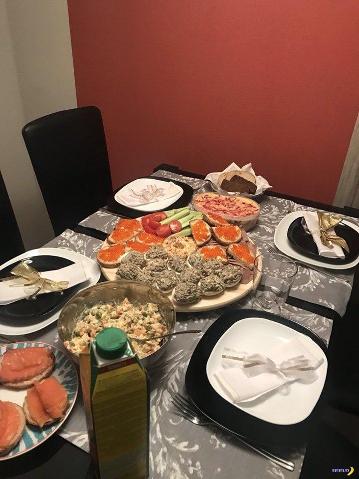 Майонез и икра –новогодние столы 2018