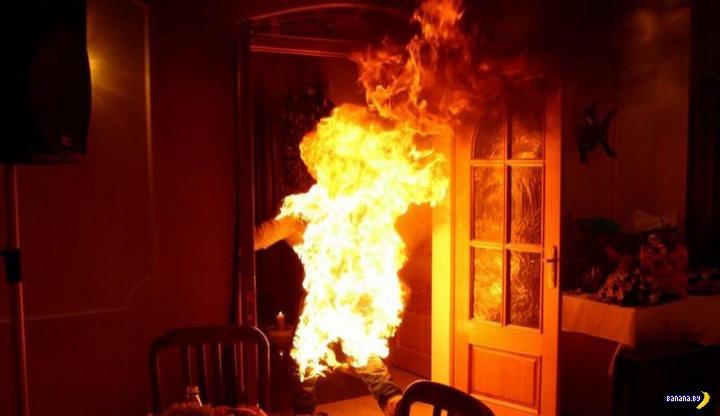 Пинские живые факелы