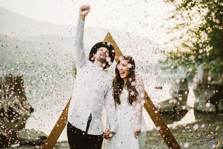 Лучшие свадебные фотографии 2017