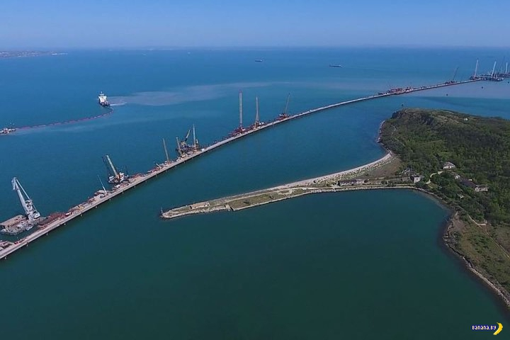 Крымский мост, экологи, бред