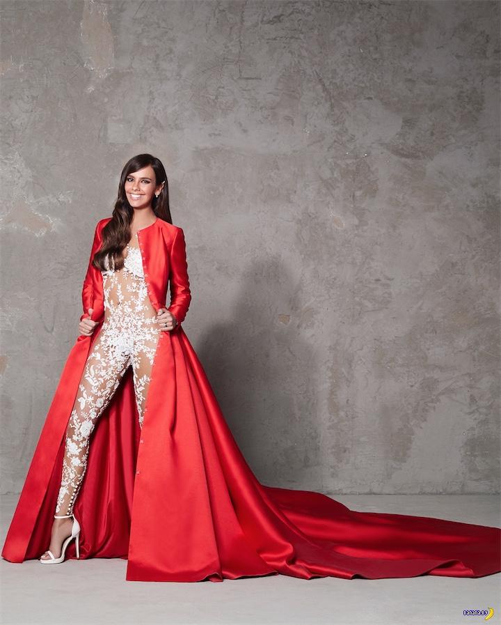 Голый свадебный комбинезон – последний писк моды!