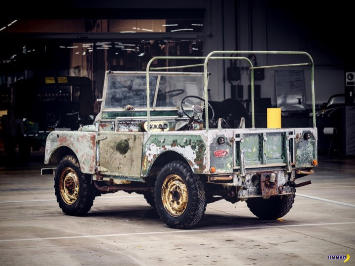 Самый-самый уникальный Land Rover