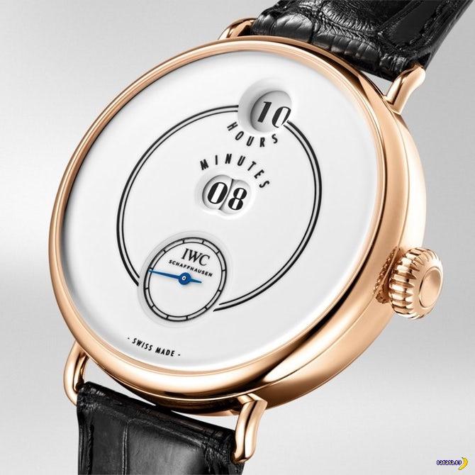 Юбилейные часы от IWC