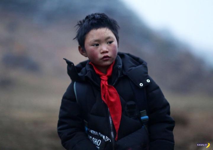 Трогательная история снежного мальчика