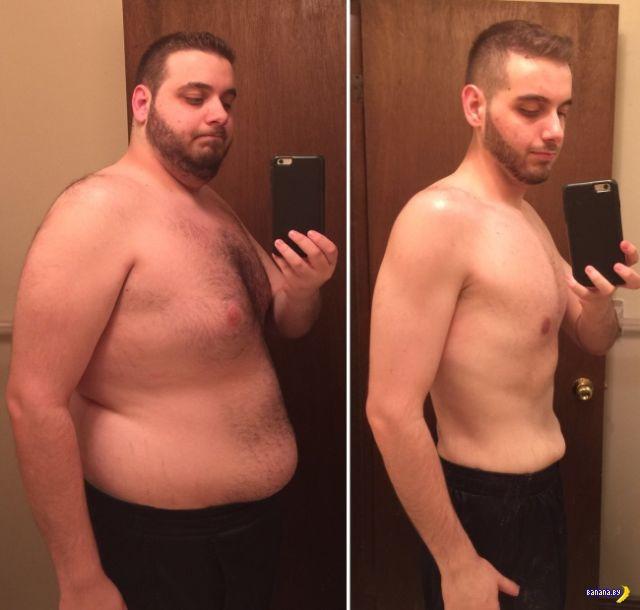 резкое похудение мужчины