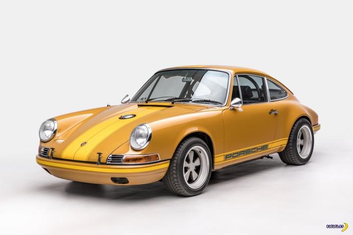 Банановый Porsche 911