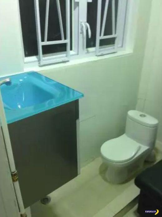 Нано-квартира в Гонконге