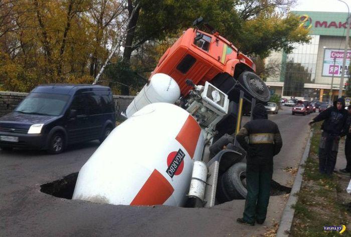 А тем временем в России - 134 - Дороги!