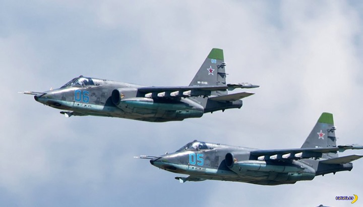 В Сирии сбили российский штурмовик Су-25 - обновлено
