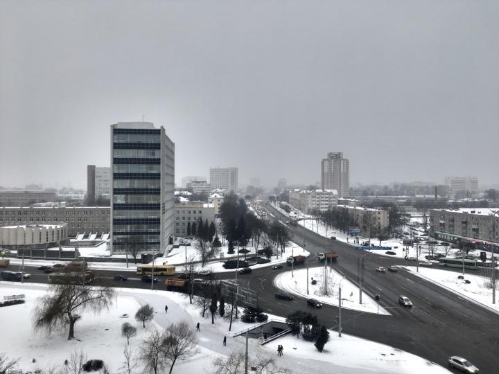 Погода: потепление и мокрый снег