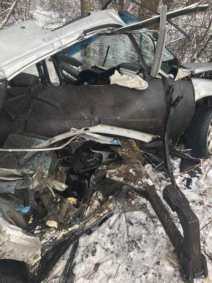 Аудюха вырвала ковш у трактора и улетела в лес