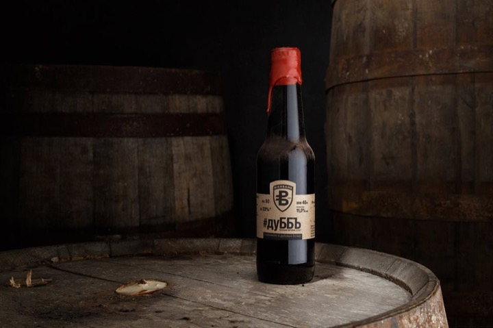 Первое в Беларуси пиво, выдержанное в бочке