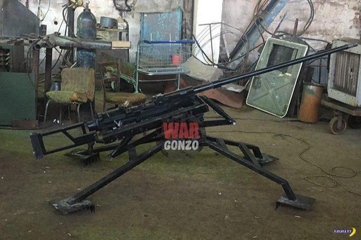 В ДНР создали крупнокалиберную снайперскую винтовку