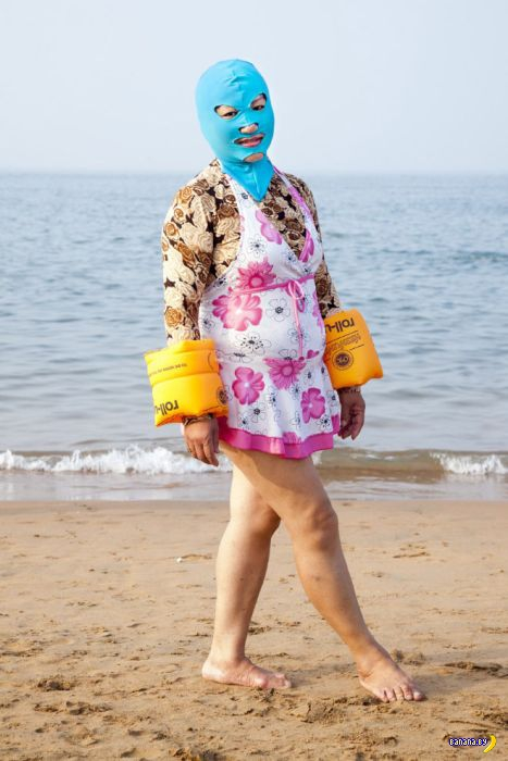 Китайская пляжная мода
