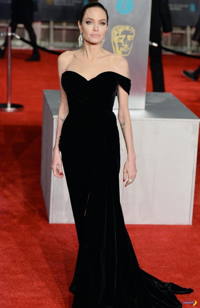 Анджелина Джоли на BAFTA 2018