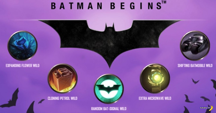Новые игровые автоматы онлайн - Batman Begins